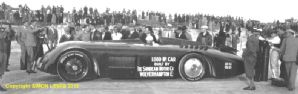 SUNBEAM 1000HP with Segrave on Daytona Beach 1928 (b)